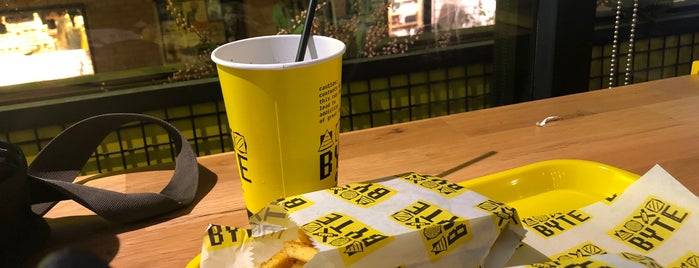 Byte Burger Street Food is one of İstanbul.