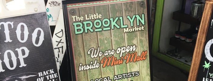 The Little Brooklyn Market is one of NYC Best Shops.