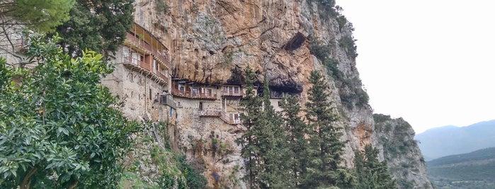 Ιερά Μονή του Τιμίου Προδρόμου is one of Vangelis'in Beğendiği Mekanlar.
