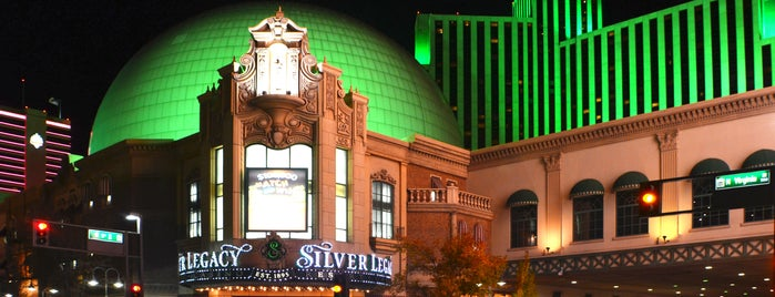 Silver Legacy Resort Casino is one of Casinos.