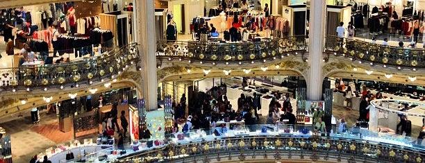Galeries Lafayette Haussmann is one of Quatre jours à Paris.