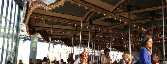 Jane's Carousel is one of City Guide: New York, New York.
