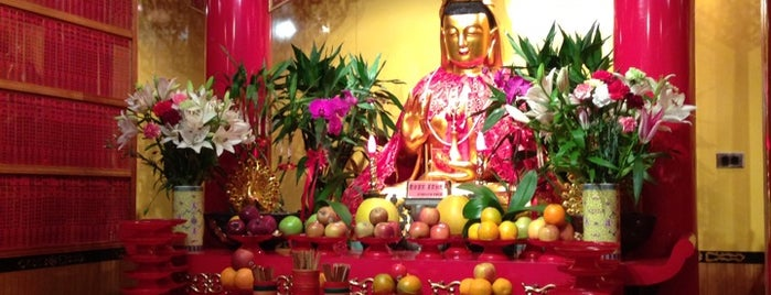 Mahayana Buddhist Temple is one of New York.