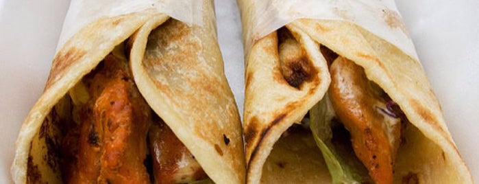 The Kati Roll Company is one of Lugares favoritos de Flora.