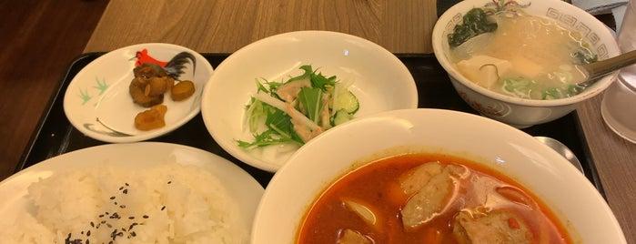 味来楽 is one of TOKYO-TOYO-CURRY 3.