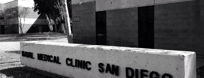 Naval Base San Diego Medical & Dental Clinic is one of Lieux qui ont plu à Marc.