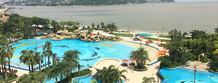 Chimelong Hengqin Bay Hotel is one of Keith's Liked Places.