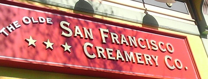 San Francisco Creamery Co. is one of SF & the bay area.
