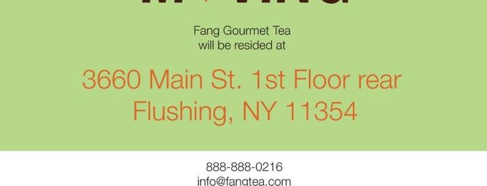 Fang Gourmet Tea is one of Coffee.