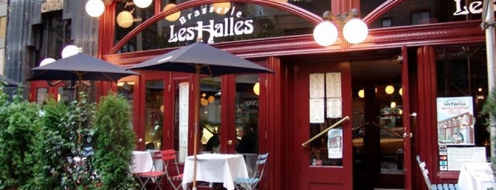 Les Halles is one of NYC - Sit Outside.