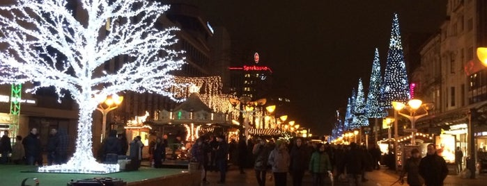 Weihnachtsmarkt Duisburg is one of Rheinschafe on a map.