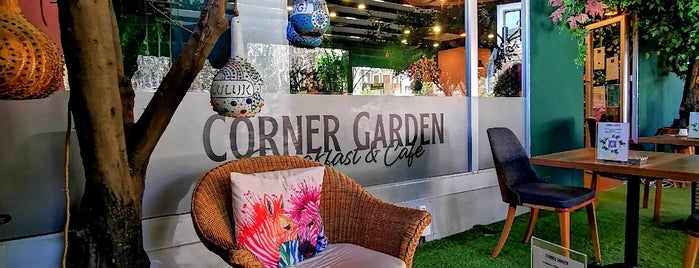 Corner Garden Coffee&Breakfast is one of Gözdeさんのお気に入りスポット.