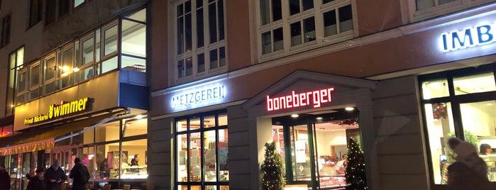Metzgerei Boneberger is one of Giasinga Schmankerl.
