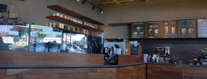 Starbucks is one of สถานที่ที่ René ถูกใจ.