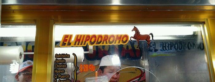 Ricas Tortas El Hipodromo is one of август 🐾 님이 좋아한 장소.