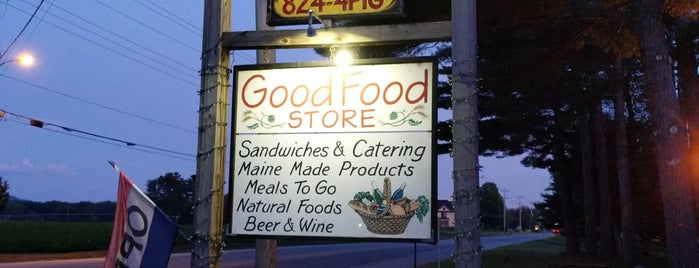 Good Food Store is one of While You're in Town for a Sunday River Wedding.