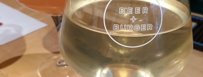 Beer + Burger is one of สถานที่ที่ Martina ถูกใจ.