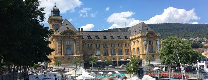 Place du Port is one of La vie en suisse.