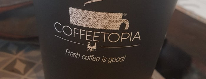 Coffeetopia is one of Posti che sono piaciuti a 'Özlem.