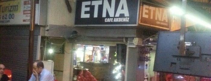 Etna Cafe Akdeniz is one of Locais curtidos por Selçuk.
