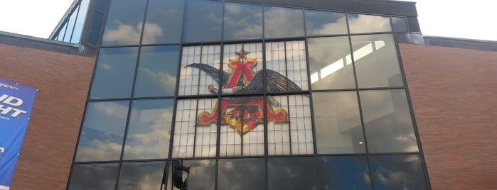 Anheuser-Busch Brewery Experiences is one of St. Louis National Historic Landmarks.
