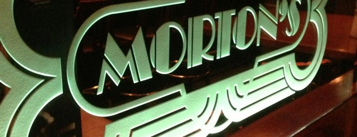 Morton's The Steakhouse is one of Hong Kong.