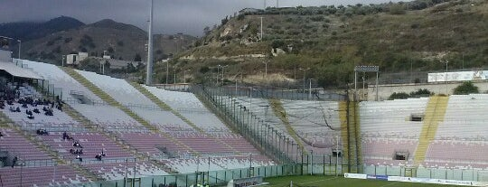 Stadio San Filippo is one of Soccer Stadiums.