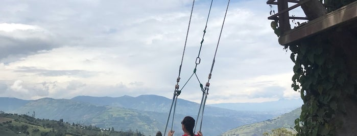 Swing at the End of the World is one of Ecuador.