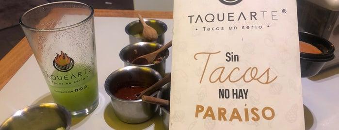 Taquearte is one of Lugares favoritos de Felipe.