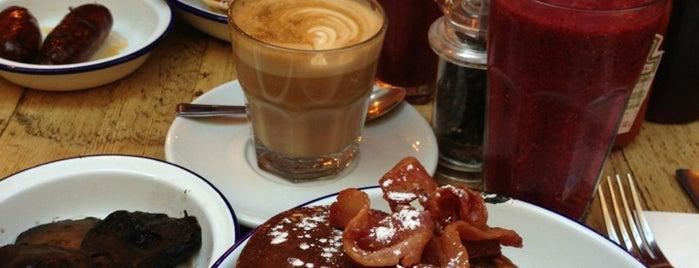 The Breakfast Club is one of An Aussie's fav spots in London.