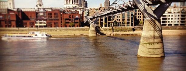 Millennium Bridge is one of London Favorites.