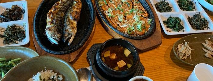 효담곤드레산채밥상 is one of 가본집.