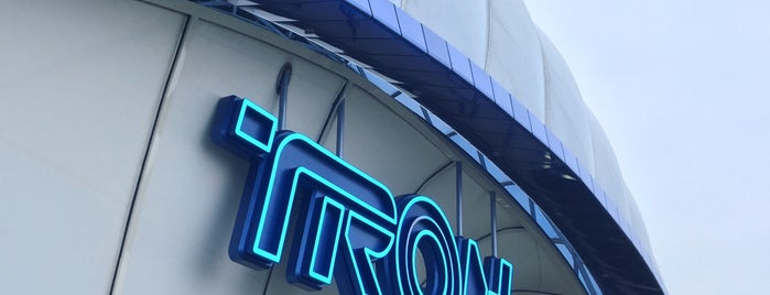 TRON Lightcycle Power Run – Presented by Chevrolet is one of Vee : понравившиеся места.