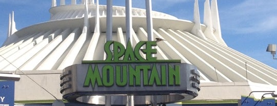 Space Mountain is one of My vacation @Orlando.