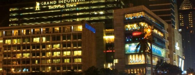 Grand Indonesia Shopping Town is one of JKT.