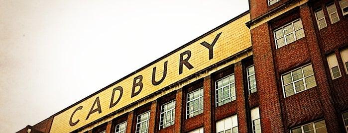 Cadbury World is one of UK unseen.