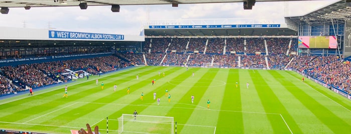 The Hawthorns is one of Lugares  Especiais.