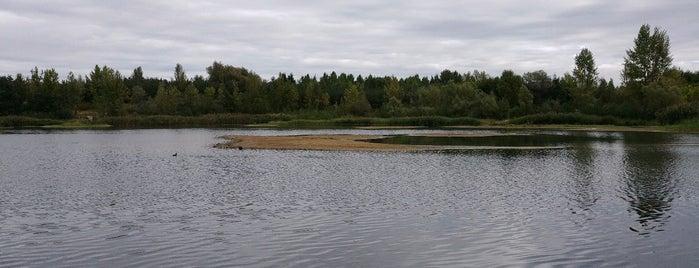 Pískovna Vojkovice is one of Místa.