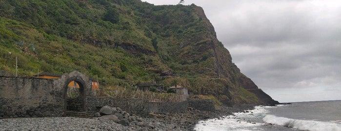 Praia Calhau de São Jorge is one of Madeira.