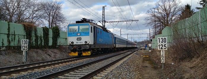 Železniční zastávka Světice is one of Lieux qui ont plu à Jarmil M..