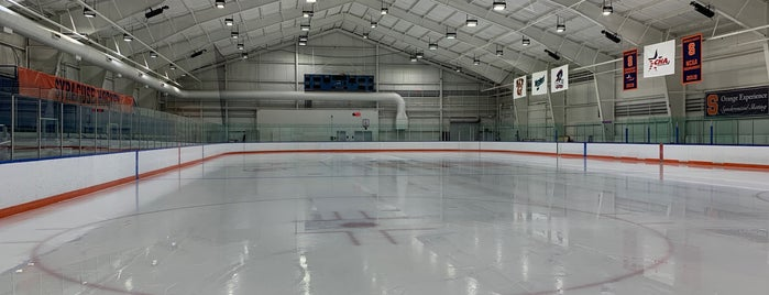 Tennity Ice Rink is one of 100% Syracuse 44 Badge.