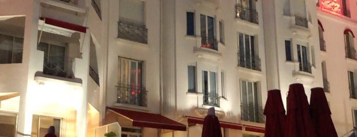 Fouquet's Cannes is one of French riviera Cannes - Monaco - Nice.