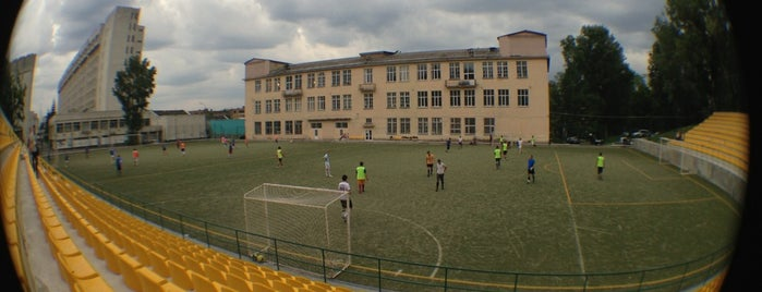 Спортивне ядро НТУУ «КПІ» is one of Tempat yang Disukai ᴡ.