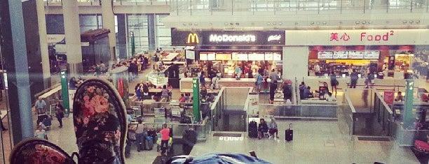 Aeroporto Internacional de Hong Kong (HKG) is one of Airports (around the world).