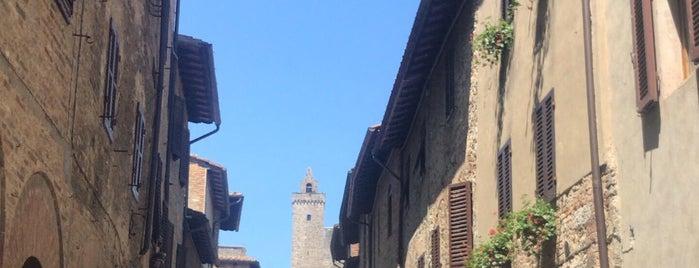 San Gimignano is one of Pelin'in Kaydettiği Mekanlar.