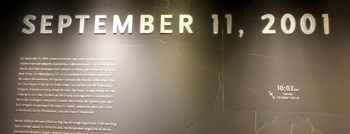 9/11 Tribute Museum is one of NY To Do.