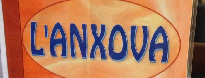 Bar L'Anxova is one of A comer y a beber.