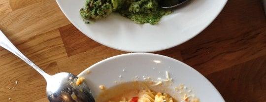Pasta Basta is one of TLVeg.