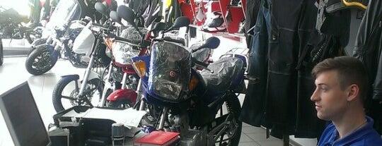 Yamaha is one of Tempat yang Disukai Dan.