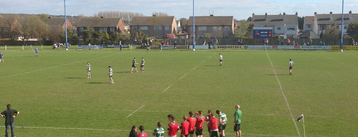 New brighton rufc is one of Lieux qui ont plu à Carl.